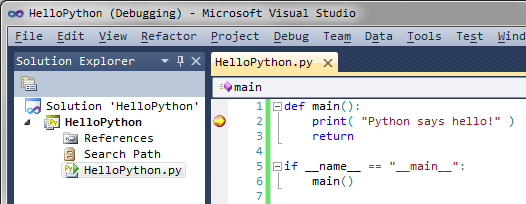 Visual Studio as Python IDE – Code Yarns 👨 💻