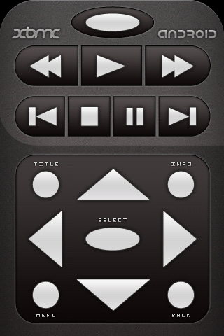 XBMC Remote display on Android.