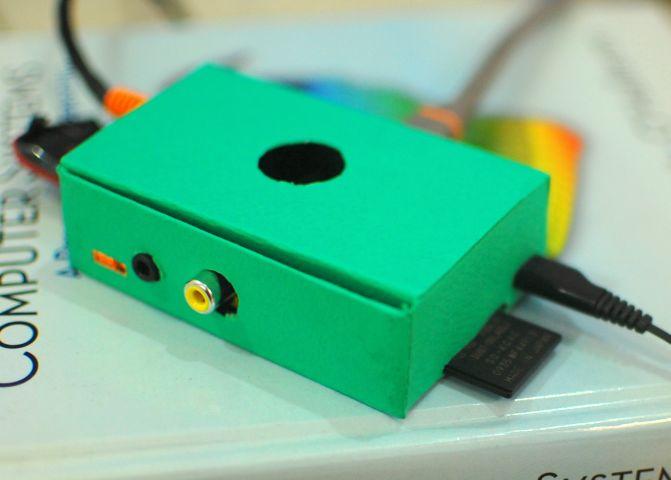 Punnet Mk1 case for the Raspberry Pi.