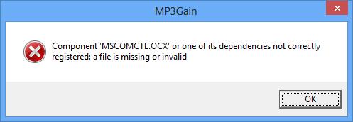 MSCOMCTL.OCX error dialog