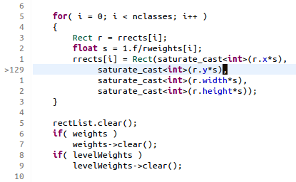 Relative line numbers in Eclipse