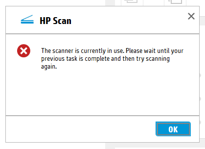 Scanner in use error – Code Yarns 👨 💻